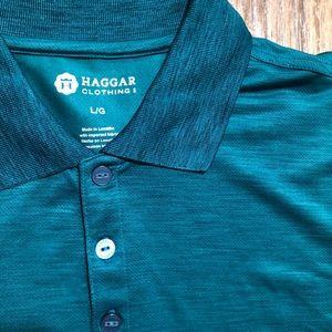 Haggar golf shirt